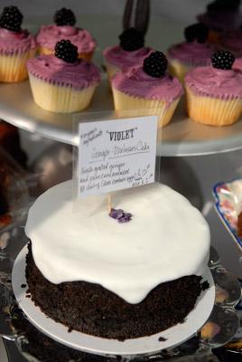Violet at Broadway Market