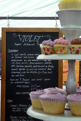 Violet at Broadway Market